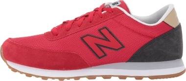 New Balance 501 - Red with Black