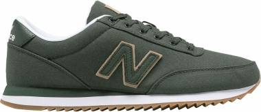 New Balance 501 Ripple Sole - Oliv Weiß