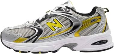 New Balance 530 - Team Away Grey/Sulphur Yellow (MR530SC)