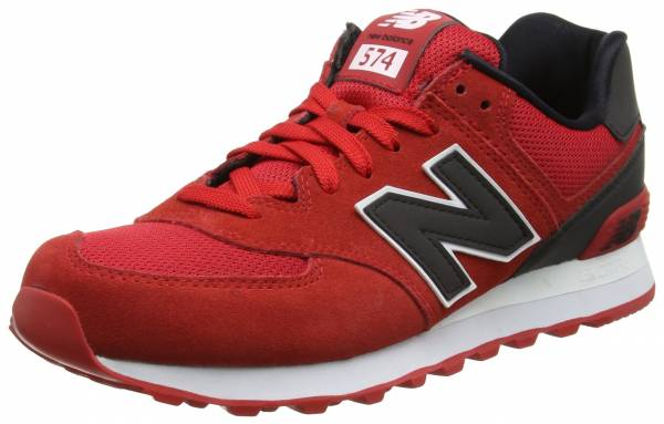 new balance 574 red reflective