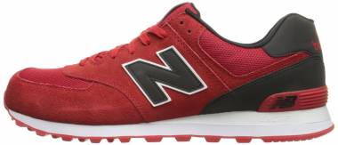 new balance 574 leather uomo