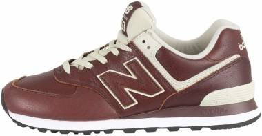 New Balance 574 Leather - Brown