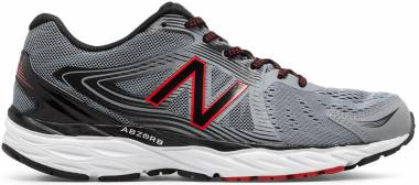 New Balance 680 v4 - Steel/Black/Alpha Red