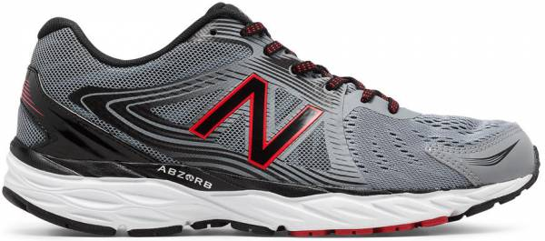 New Balance 680 v4 Steel/black/alpha Red