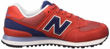 New Balance 574 Fresh Foam - Red