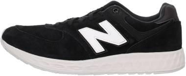 New Balance 574 Fresh Foam - Black/White (MFL574FC)