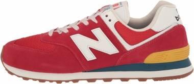 New Balance 574 - Red (ML574HA2)