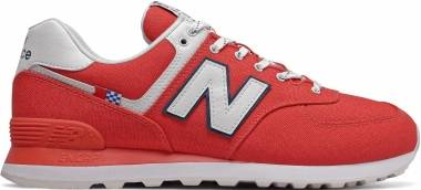 New Balance 574 - Red (ML574SOL)