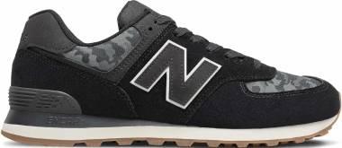 New Balance 574 - Black Grey (ML574COA)
