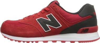 New Balance 574 - Red/Black (ML574CND)