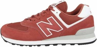 New Balance 574 - Orange Dark Oxide White Esl (ML574ESL)