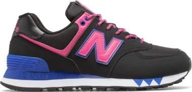 New Balance 574 - Black/Pink (WL574JOA)