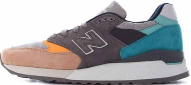 New Balance 998 - Grey/Blue