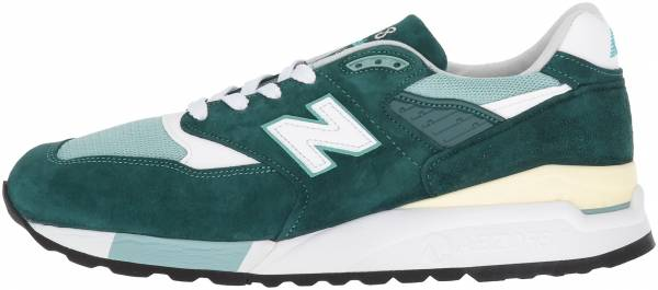 hot sale online ca3fb 2b84f New Balance 998 Green