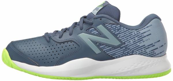 New Balance 696 Navy with Green