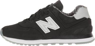 New Balance 574 Lux - Black/Black (WL574SYC)