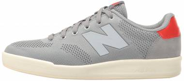 New Balance 300 Engineered Knit Grey with Red Men
