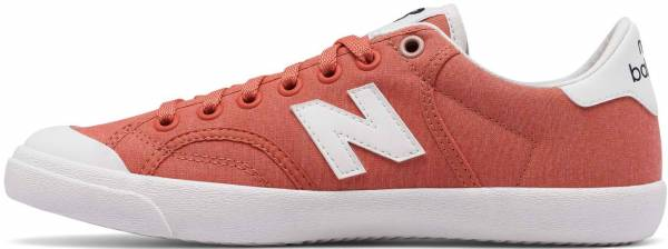 New Balance Pro Court Canvas Pink/White