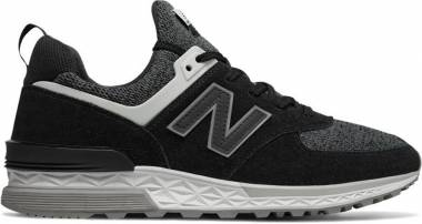 New Balance 574 Sport - Black/Whit (MS574CC)