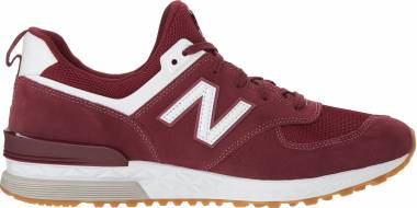 New Balance 574 Sport - Burgundy (MS574FCW)
