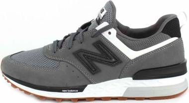 New Balance 574 Sport - Grey/Black