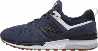 New Balance 574 Sport - Navy Black