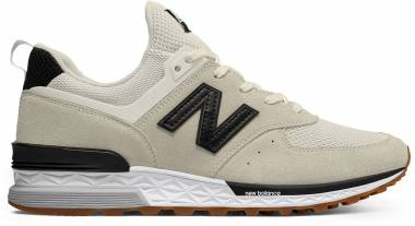 New Balance 574 Sport - White/Black