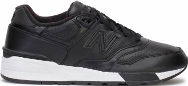New Balance 597 Leather Black Men