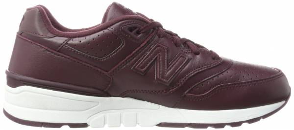 New Balance 597 Leather Red