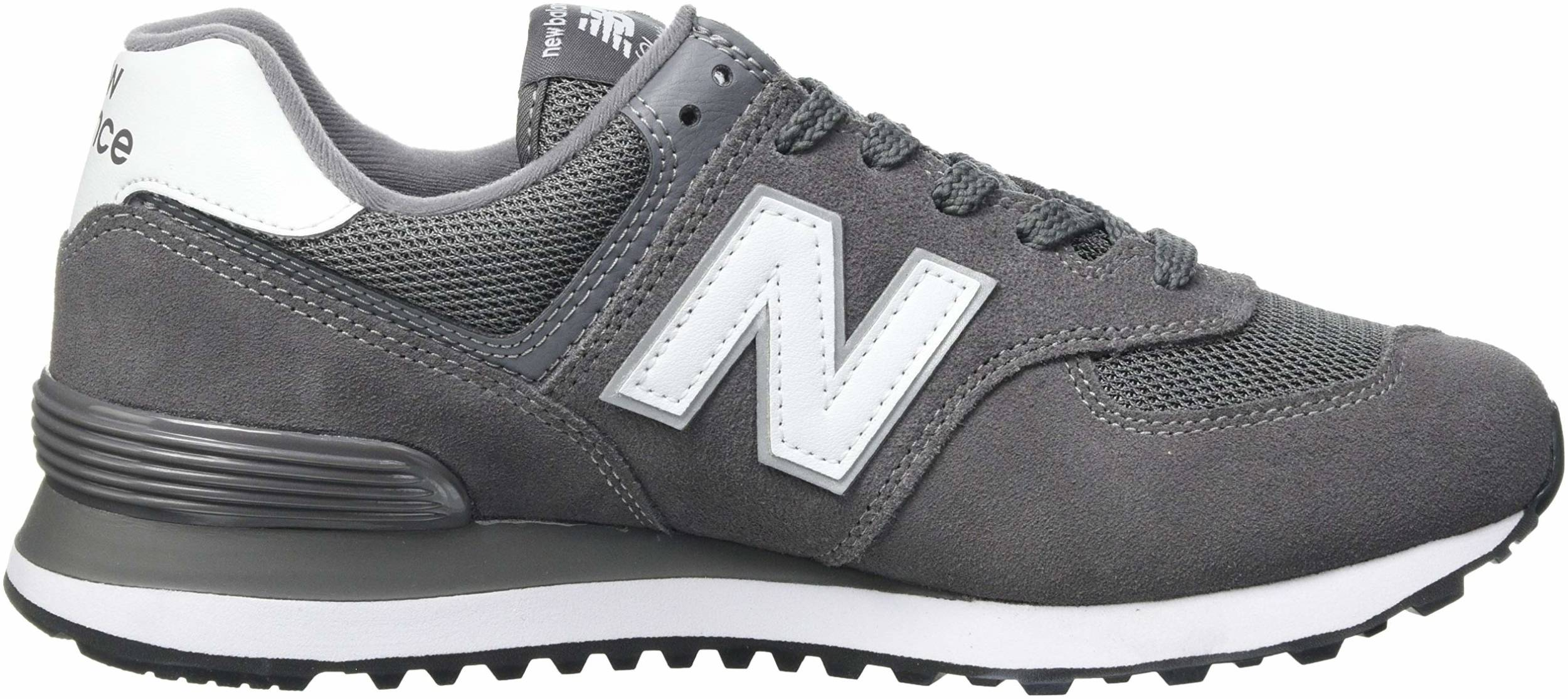 New Balance 574 Core Plus sneakers in grey (only £29)   RunRepeat