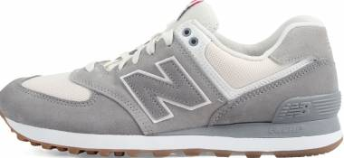 New Balance 574 Retro Sport Grey with Silver Men
