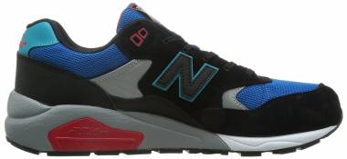 New Balance 580 - Black/Blue/Grey/Red