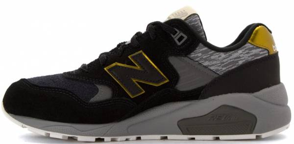 new balance 574 black and gold