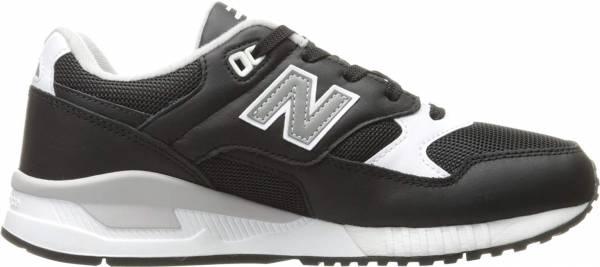 New Balance 530 Leather Textile - Black