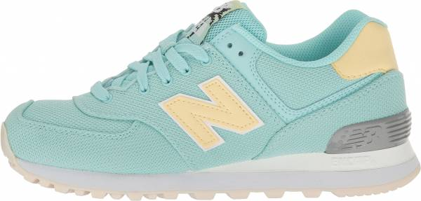 New Balance 574 Miami Palms Ozone Blue Glo/pollen