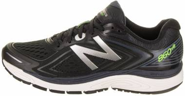 New Balance 860 v8 - Black with Thunder
