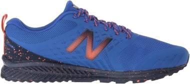 New Balance FuelCore Nitrel Trail - Blau Pacific Pigment Dynomite Rp1 (MTNTRRP1)