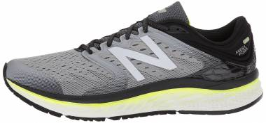 New Balance Fresh Foam 1080 v8 - Grey/Yellow (M1080GY8)