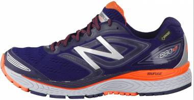 New Balance 880 v7 GTX Navy with Blue & Orange Men
