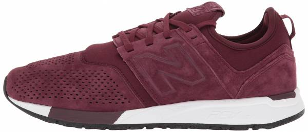 New Balance Suede 247 Burgundy