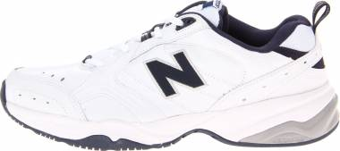 New Balance 624 - WHITE/NAVY (MX624WN2)
