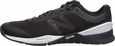 New Balance Minimus 40 Trainer - Black Black White Metallic Silver Rb1
