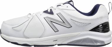 New Balance 857 v2 - White with Navy (MX857WN2)