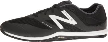 New Balance Minimus 20v6 Trainer - Black/White/Thunder (MX20BK6)