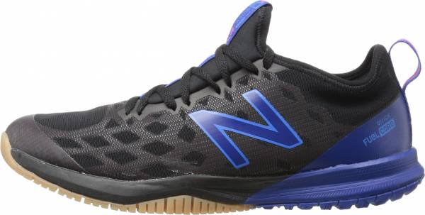 separation shoes 58faa c8009 New Balance FuelCore Quick v3 Trainer Black with Blue