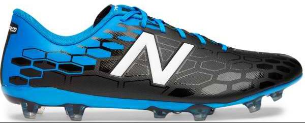 New Balance Visaro 2.0 Control Firm Ground Black with Blue & Red