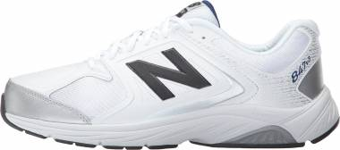 New Balance 847 v3 - White with Grey (MW847WT3)