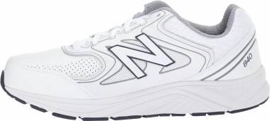 New Balance 840 v2 White/Navy Men
