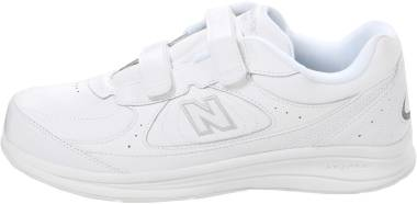New Balance Hook and Loop 577 - White (W577VW)