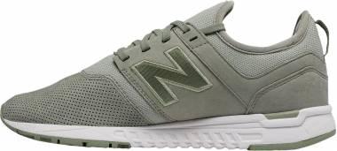 New Balance 247 Leather - Grey (WRL247WO)